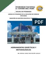 MÓDULO HERRAMIENTAS DIDÁCTICAS Y METODOLÓGICAS