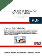 BRIEF DE INVESTIGACIÓN