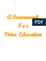 Belize--A Framework for Voter Education