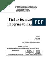 FICHAS TECNICAS