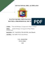 Análisis Estratégico de la Agencia Villarna Luxury&Travel