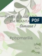 Marilia Archangelo - Semana 1 (pbpmarilia)