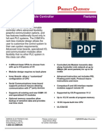 CQM1H Programmable Controller - Product Overview