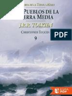 jrr tolkien - la historia de la tierra media 9. los pueblos de la tierra media.pdf