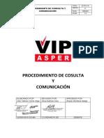 SIG-PR-CC-01 Procedimiendo de Comunicacion y Consulta