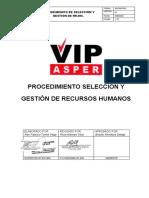 SIG-RH-PR-01 Procedimiento de Selección y gestion de RR.HH.