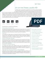 Yealink SIP-T40G Datasheet_ES