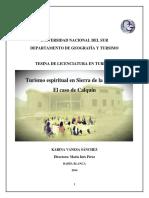 Tesina de Licenciatura en Turismo sanchez