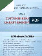Customer Behaviour and Market Segmentation