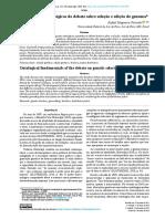 Fundamentos ontológicos do debate sobre seleção e edição do genoma