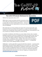 The CoFit-19 Protocol