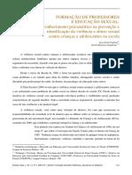 Vagliati, A. C.; Gagliotto, G. M. - Formação de Professores e Educação Sexual