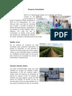 Proyectos Sostenibes y sustentables