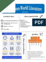 honors world lit syllabus 2020-2021