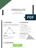 Clase de TRIÁNGULOS