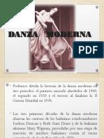 La danza Moderna- 3°