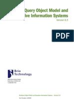 BRIO Object Model Manual