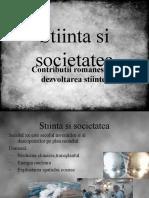 Stiinta si societatea