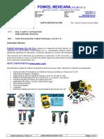 Carta Presentación Industria FONKEL