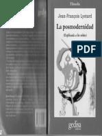 Jean_Lyotard_-_La_Posmodernidad