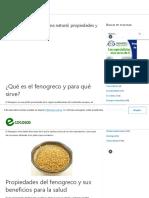Fenogreco la testosterona natural, propiedades y contraindicaciones - Ecocosas.pdf