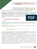4 - PART-1 CHAPITRE-1 LECON-4 QUELLES SONT LES PRINCIPALES DEFAILLANCES DU MARCHE