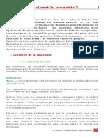 7 - PART-1 CHAPITRE-2 LECON-2 QUEST CE QUE LA MONNAIE