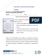 PRUEBA DE COMUNICACIÓN ESCRITA 2020-1 SEGUNDO PARCIAL