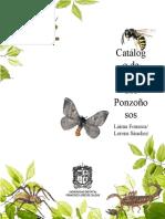 Catálogo de artrópodos ponzoñosos