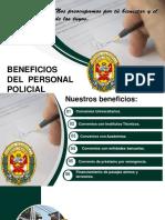 BENEFICIOS AL PERSONAL PNP