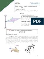 2020A - Física - 12  - Productos entre vectores - Producto vectorial o producto cruz.pdf