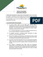 ABERTURA DO CONCURSO