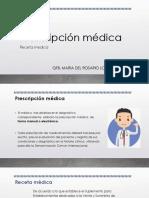 Resumen prescripción médica