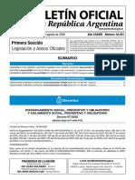 Decreto Extensión Cuarentena