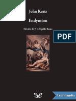 Endymion - John Keats.pdf