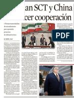 06.06.2013 Acuerdan SCT y China fortalecer cooperación