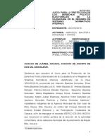 Desechamiento y Estudio de Fondo JDCI-55-2019