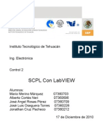 SCPL con Labview
