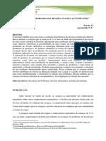 RESOLUÇÃO DE PROBLEMAS DE DIVISÃO NA EDUCAÇÃO INFANTIL