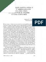 Los generales Santa Anna y Paredes y Arrillaga en México%2c 1841-1843- rivales por el poder%2c o una copa más. Michael P. Costeloe