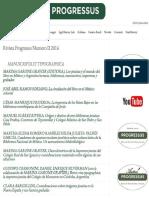 Datos Historicos de La Imprenta Jesuita
