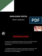 Presentacion Amalgama Dr wilmer