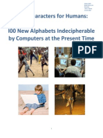 100 New Alphabets