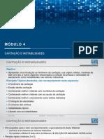 Turbinas hidráulicas - Modulo 4/5 - Cavitação e Instabilidades