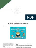 Actividad 3 - Soluciones Innovadoras