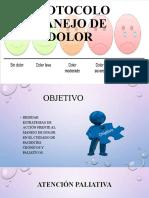 PROTOCOLO MANEJO DE DOLOR