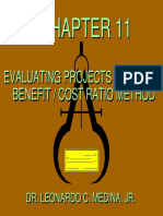 11 Evaluating Projects-Benefit Cost Ratio Method