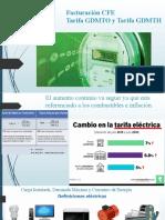 Facturación CFE