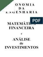 Matemática Financeira - Analise de Investimentos