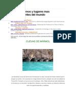 Los fenomenos y lugares mas impresionantes del mundo.doc